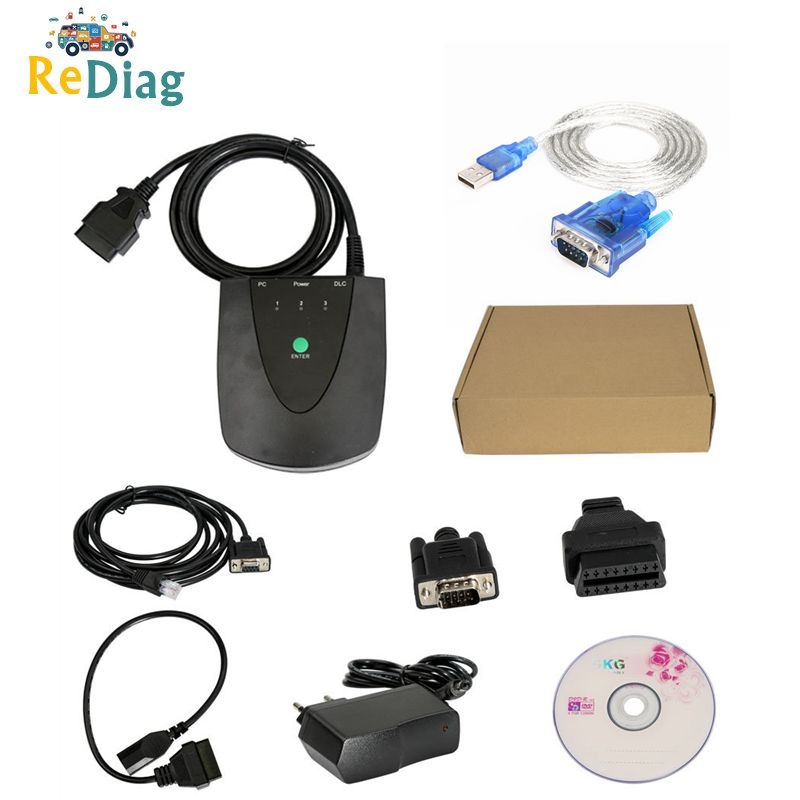 Latest Version HDS V3.102.051 for Honda HDS HIM Diagnostic Tool with Double PC Board for Honda HDS Scan Tool