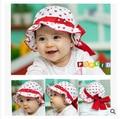 Корейский милый маленький ребенок шляпа двойной цветочные горшки шляпа Принцесса лета ребенка шляпу для защиты от солнца 2015 новая мода