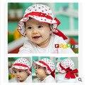 Corea lindo sombrero del niño doble macetas protección sombrero para el sol sombrero de Princesa niña de verano 2015 de la nueva manera