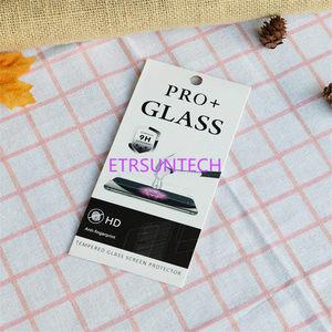 Image 4 - 3000pcs 4 스타일 크래프트 종이 유리 소매 포장 상자/종이 상자/아이폰 7 6 6 플러스 삼성 화면 보호 필름에 대 한 흰색 상자