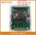 Быстрый Свободный Корабль ПЛК промышленного управления доска 51 MCU control board транзисторный выход FX1N FX2N 10MR AD DA PLC Доска