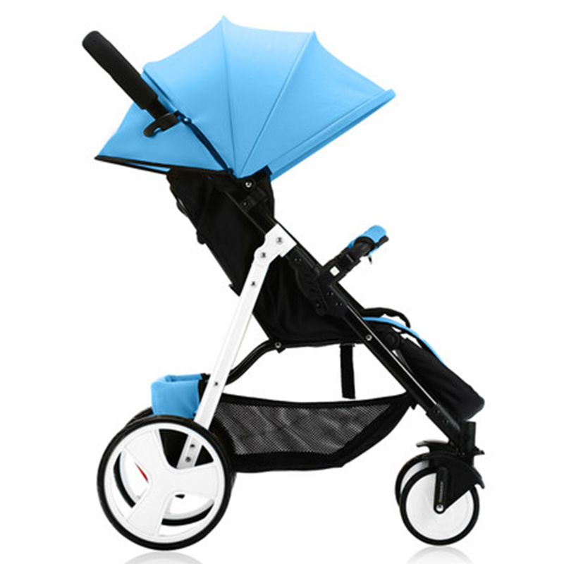 Wózek dziecięcy Sally parasolka zimą i latem z ręki może - Aktywność i sprzęt dla dzieci - Zdjęcie 5