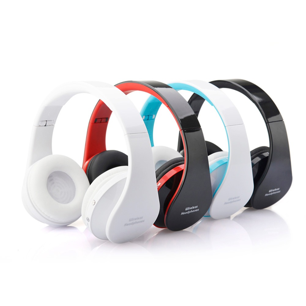 Blutooth Große Casque Audio Cordless Drahtlose Kopfhörer Headset <font><b>Auriculares</b></font> <font><b>Bluetooth</b></font> Kopfhörer Für Computer Kopf Telefon PC Mit Mic image