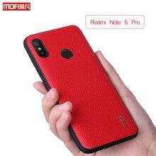 Mofi For Xiaomi Redmi Note 6 Pro Case Pu Leather Grain Redmi Note 6 Pro Case Back Cover Business For Xiaomi Redmi Note6 Pro Case