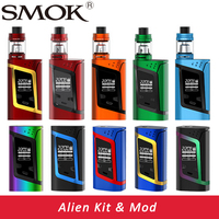Smok Alien Kit Alien 220W Box Mod With 3ml TFV8 Baby Tank E Electronic Cigarette