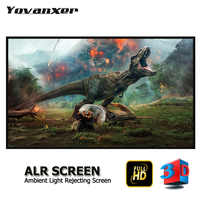 """Ambient Light Rejecting ALR Projector Screen 80"""" - 150"""" Anti-light Projection Screens without the Frame"""