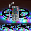 5m 3528 5050 Waterproof Smd Rgb 300leds Led Light Strip 44key Ir Remote 60 Pcs/m Smd None Living Room Switch Smd5050  D12v
