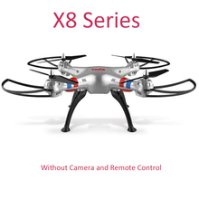 SYMA X8C X8W X8G X8HW X8HG 2.4G 4CH 6Axis Big Size RC Drone Quadcopter Helicopter Without Camera and Remote Control