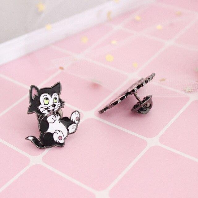 Милые брошки мультяшных котиков 4