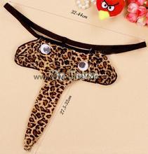 Leopard Grain Elephant Pouch Underwear Novelty