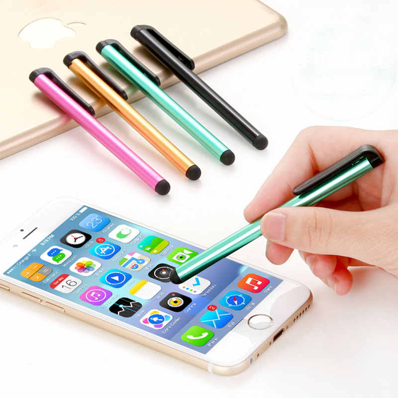 10 шт. Мини емкостный сенсорный экран стилусы ручка для тачскрина для iPhone/IPad/IPod/оконные рамы планшеты/шт/Android телефоны/Планшеты