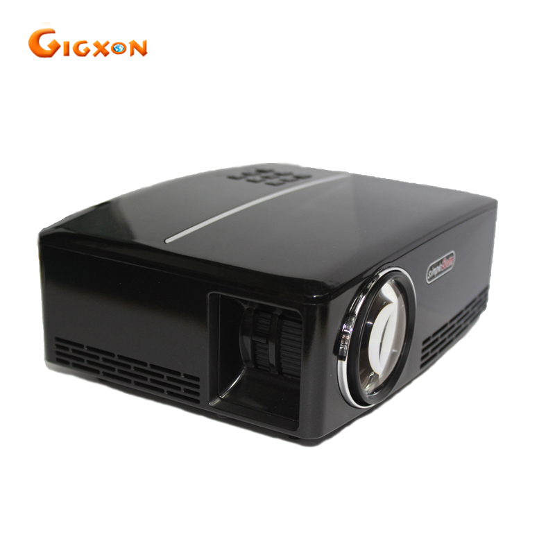 Gigxon G88 2017 NEW Mini Projector 800 480 TV Home Theater Projector Support Full HD 1080p