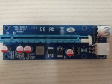 100pack Factory Price USB Riser Card Riser PCIE x1 x16 for Bitcoin Mining