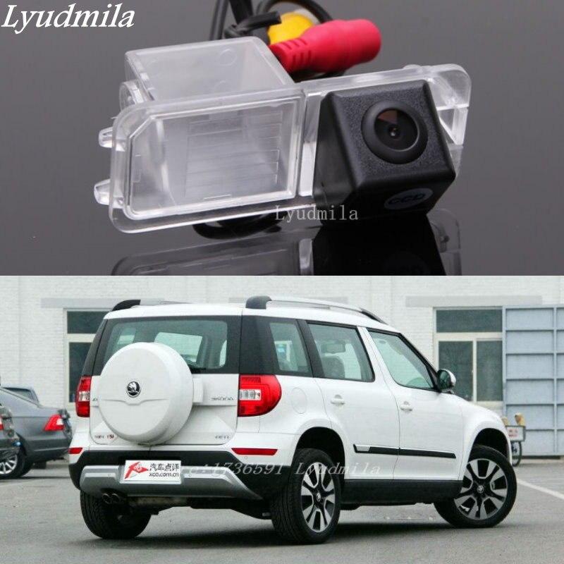Lyudmila For Volkswagen Crosspolo Skoda Yeti 2014 Rear View Camera