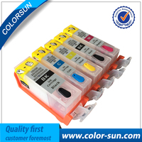 5pcs For Canon PGI 225 CLI 226 Refillable Ink Cartridges For Canon MG5120 MG5220 MG8120 MG6120