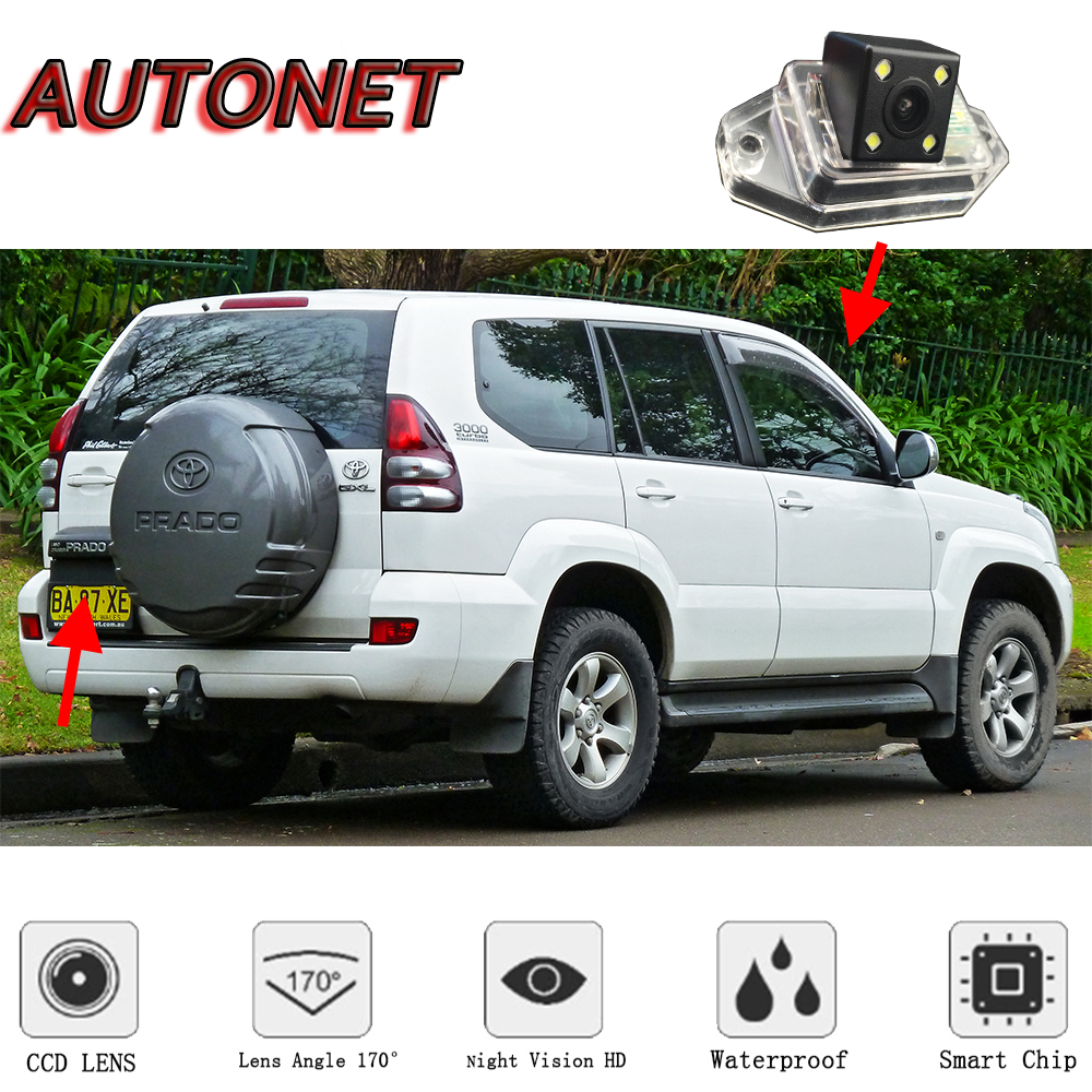 AUTONET Rear View camera For Toyota Land Cruiser Prado LC90/LC120/LC150 LC200 1996~2017/Backup Camera/license plate camera image