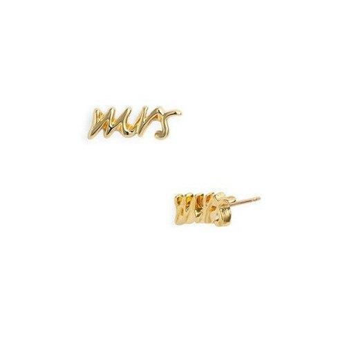 Fashion Say Yes Mrs Earrings Dot Stud Earrings for Women