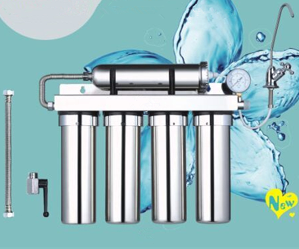 Free Shipping to Malaysia Singapore And Korea 5 stage water purifier system home kitchen stainless steel water purifier filter 2017 low price new machine free shipping singapore by malaysia 720mm