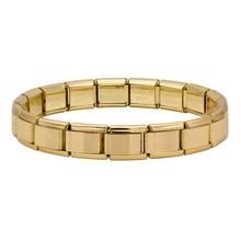 Fyour European popular 9mm Width Fashion Charm Stainless Steel Bracelet Fit 9mm Links