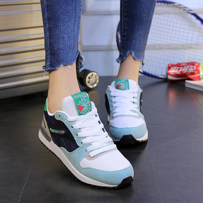 2016 new women running shoes Trend sport Breathable Air sneakers super light Athletic Zapato Zapatillas outdoor walking shoes