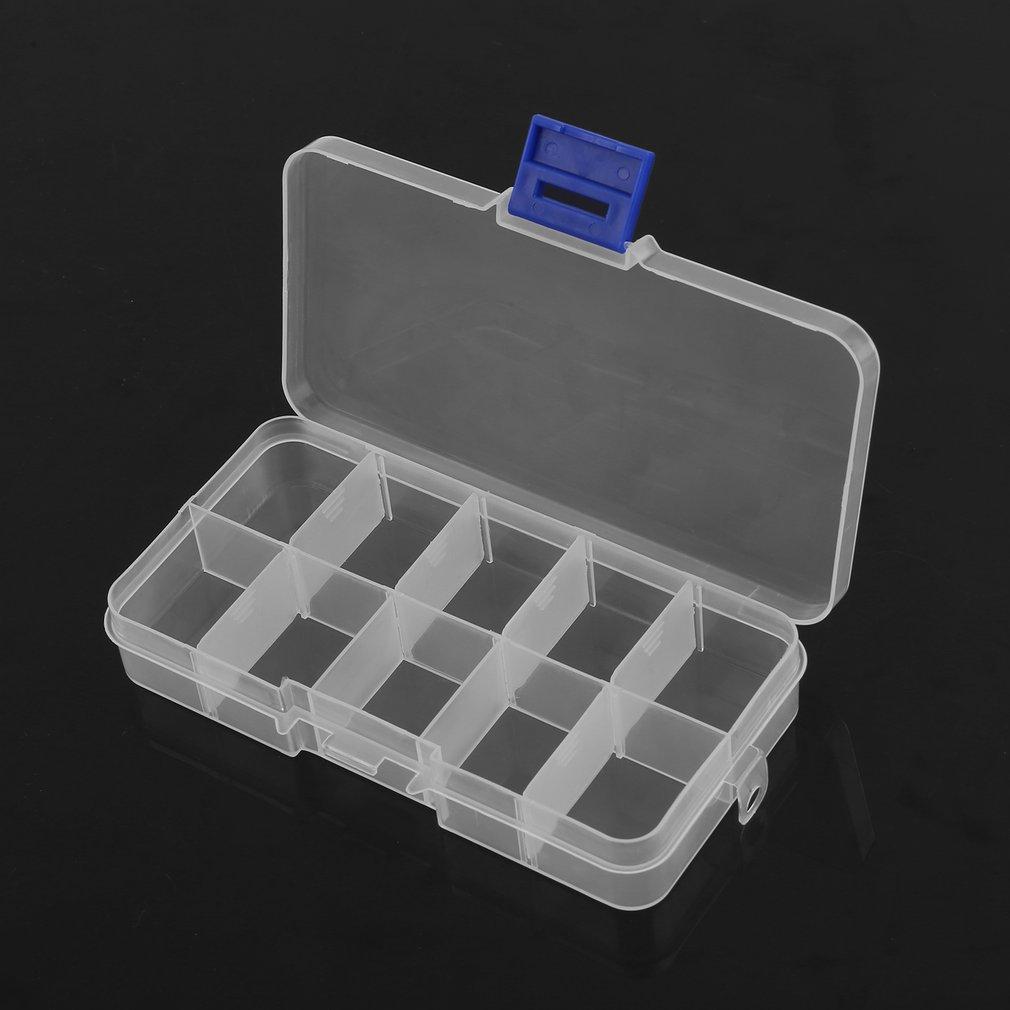 24 Compartments Slots Jewelry Storage Box Case Craft Organizer Bead Tool