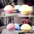 Alta Qualidade 1 pc LED Copo de Luz Da Noite Criativo Tumbler Cogumelo Projeto LEVOU Lâmpada de Cabeceira Inteligente Toque Regulável Luz Lâmpada