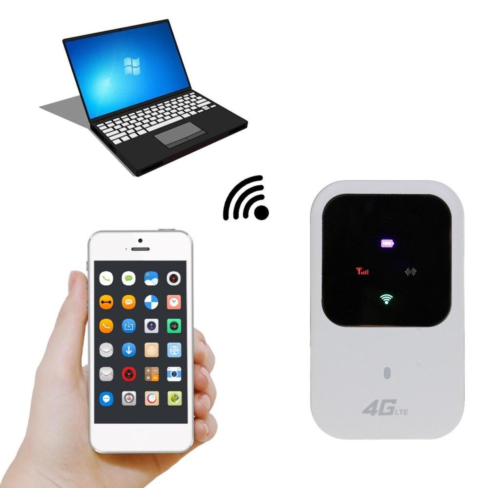 Odblokowany 4G router wi-fi 3G 4G Lte przenośny kieszeń bezprzewodowa wifi mobilny punkt aktywny samochód router wifi z gniazdo karty sim z wyświetlaczem