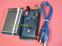 Free Shipping 3 2 Inch TFT LCD Screen Module Ultra HD 320X480 MEGA 2560 R3 Board