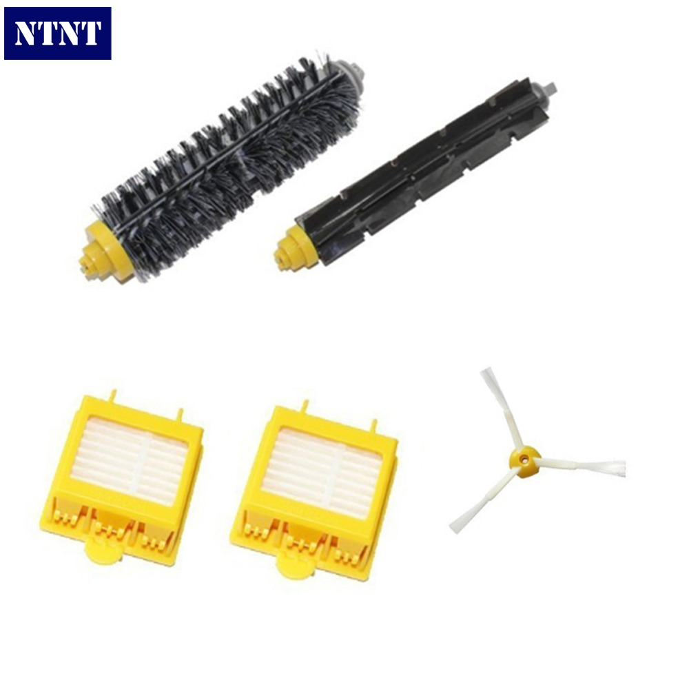 NTNT Free Post New Replacement Brush Filter Mini Kit for iRobot Roomba 700 Series 760 770 780 bjmoto motorcycle cnc adjustable folding gear shift lever shifter brake pedal for bmw r1200gs lc r1200gs adv 2014 2016