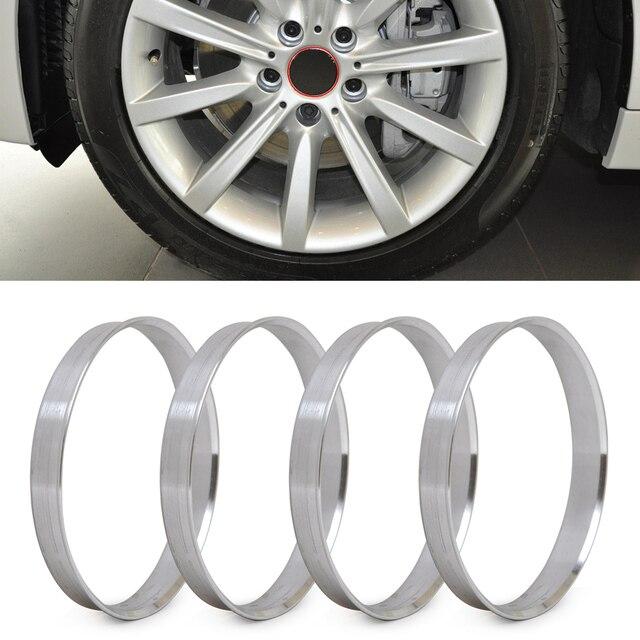 DWCX anneaux de moyeu en aluminium, 4 pièces