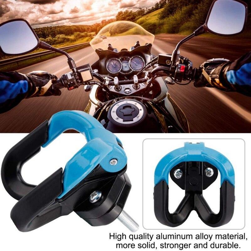 6 couleurs multifonction Moto crochet bagage sac cintre casque griffe Double bouteille porte-bagages pour ATV Moto accessoires