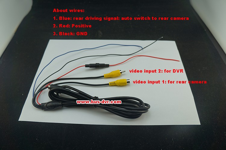 7001 monitor cables instruction-