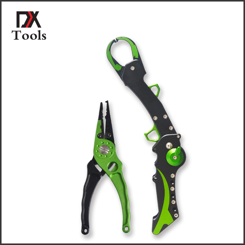 Aluminum Fishing Lip Grip Gripper Folding Equipment Tools Hook Remover Fishing Pliers Line Cutter Scissors Fish Accessories happy baby манеж alex happy baby