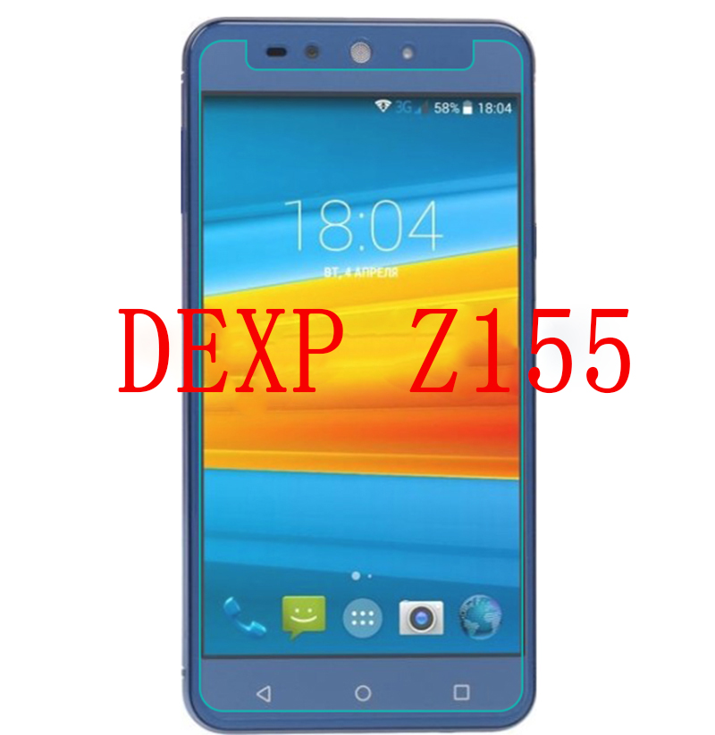 Smartphone Tempered Glass For DEXP Z155 Electron 9H Explosion-proof Protective Film Screen Protector Cover Phone For DEXP Z 155