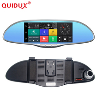Night Vision New 3G Car DVR 7 Inch IPS GPS Navigation Android 5 0 Bluetooth Rearview