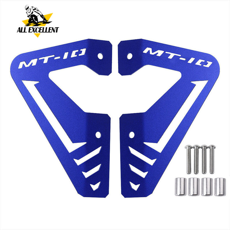 MT10 FZ10 Acessórios Radiador De Alumínio Placa Lateral Painel Tampa Guard Protector para Yamaha FZ MT 10 MT10 FZ10 15- 16 2015-2016