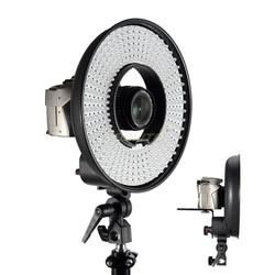 Falcon Eyes DVR-300 LED Ring Light 5500k Color temperature Photography Led Video Ring Light with Camera Bracket