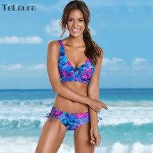 2018 New Sexy Bikini Women Swimwear Push Up Swimsuit Retro Bathing Suit Biquinis Summer Beach Wear Bandage Swim Suit Female