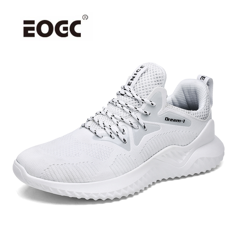 Spring Autumn Fashion Men Casual Shoes Air Mesh Breathable Comfortable Men Sneakers Lace-up Breathable Flats Shoes Men