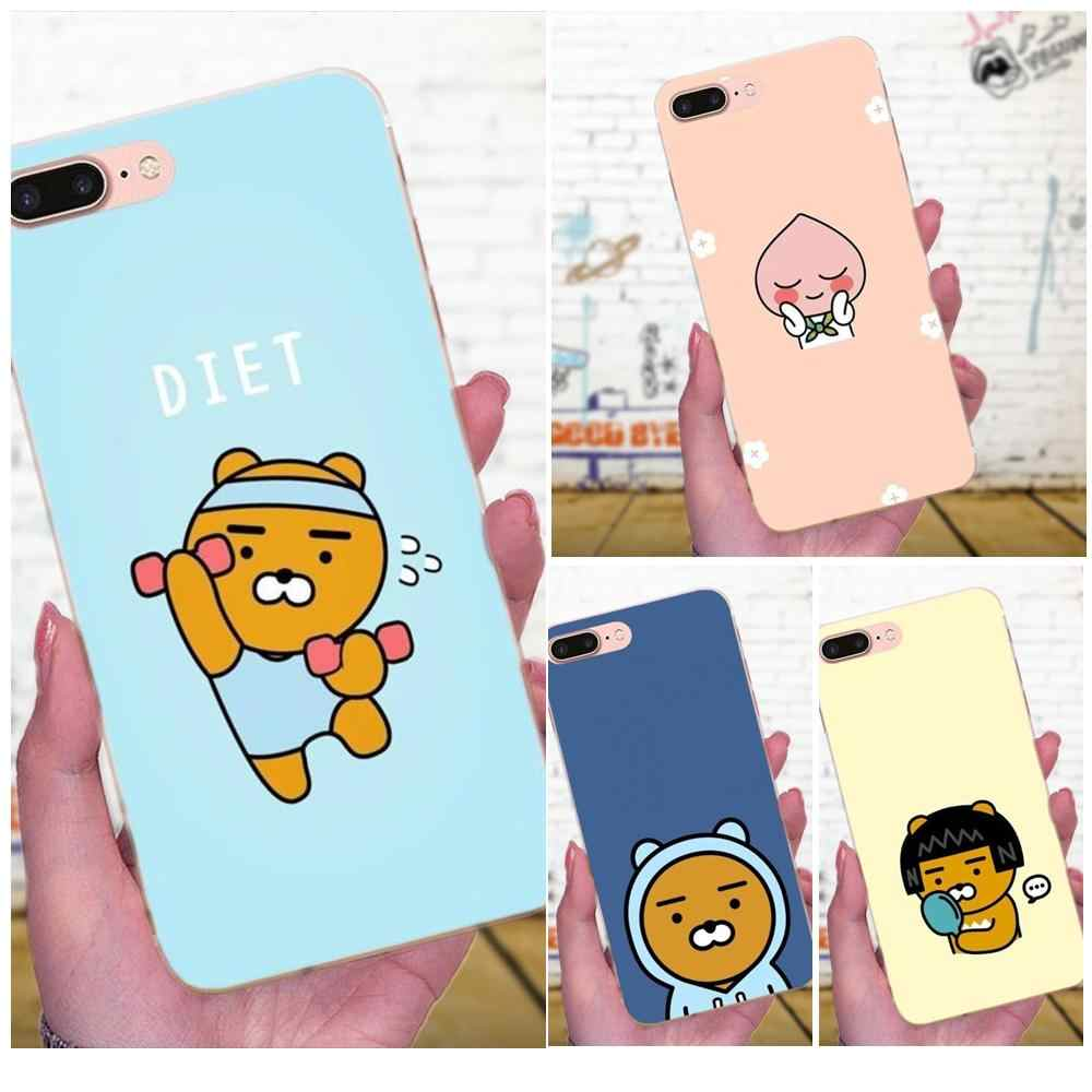 Soft TPU Cover Cell Phone Cases Kakao Pop Music Korea For Galaxy J1 J2 J3 J330 J4 J5 J6 J7 J730 J8 2015 2016 2017 2018 mini Pro