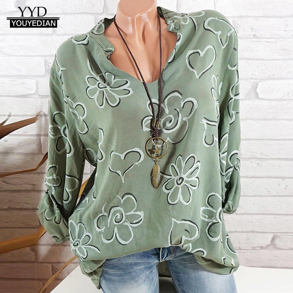 Youyedian Womens Tops And Blouses Plus Size Summer Fashion Womens Button Star Printed Tunic Shirt Short Sleeve Hot Drill Blouse Women's Clothing