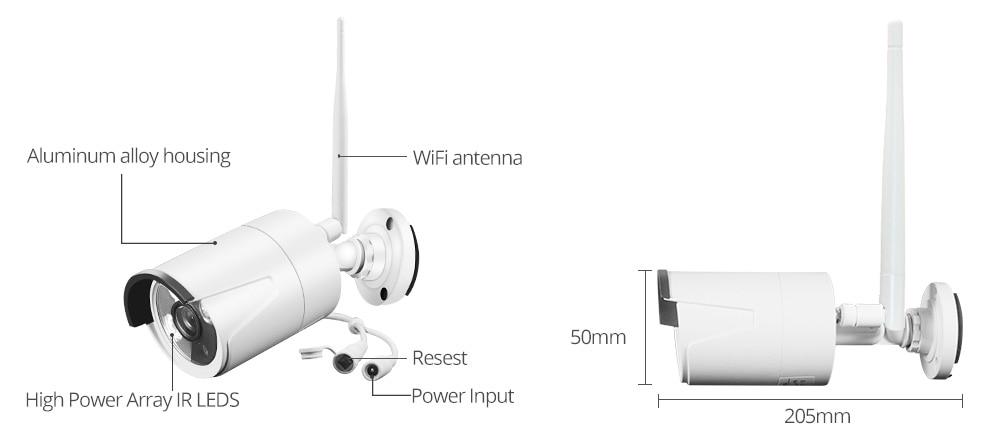 home camera system wireless camera set