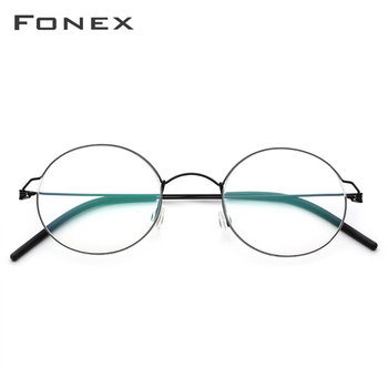 FONEX Round Optical Glasses  1