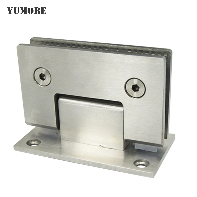 DHL Free Shipping Bathroom Glass Door Clamp 201 Stainless Steel Shelf Clip Clamp Systems 30pcs/lot