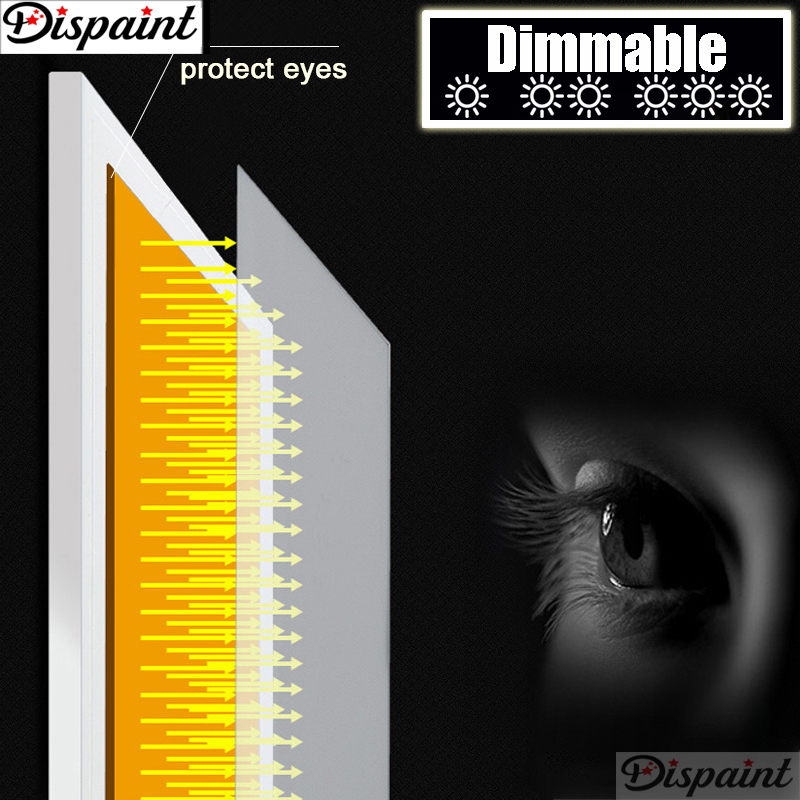 Dimmable Ultrathin A4 LED Light Tablet Pad Apply to EU UK AU US USB Plug Diamond Embroidery Diamond Painting Cross Stitch Kits in Diamond Painting Cross Stitch from Home Garden