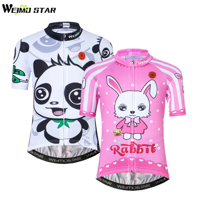 WEIMOSTAR Cycling Jersey Clothing Sportswear Bike Ropa-Ciclismo Children Tops Outdoor