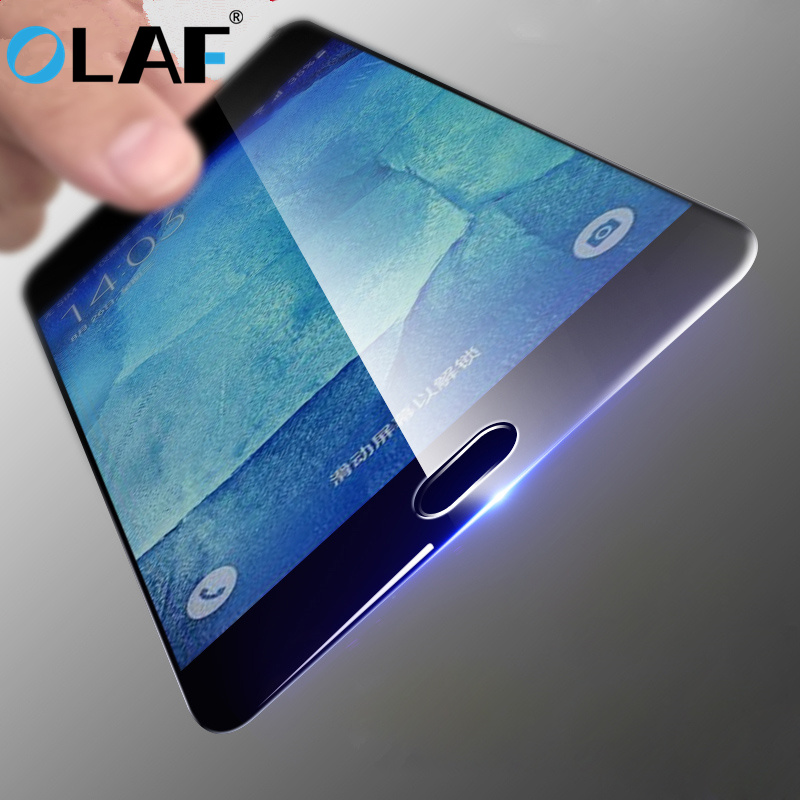 Galleria fotografica OLAF Full Cover Tempered Glass for Samsung Galaxy S6 S7 Note 4 Note 5 Galaxy A3 A5 A7 2016 2017 A310 A9 A8 Screen Protector Film