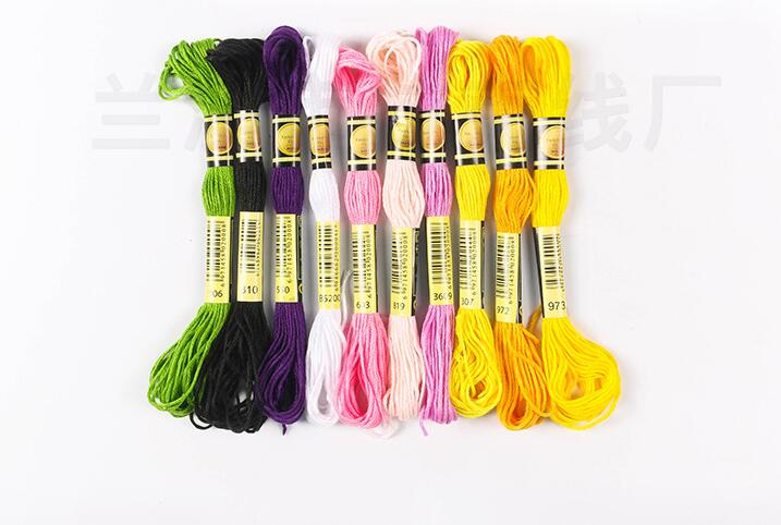 CXC TWO LABELS Full Set Of 447 Colors Or Choose Your Needed Colors Similar DMC Cotton Cross Stitch Embroidery Thread Floss Yarn