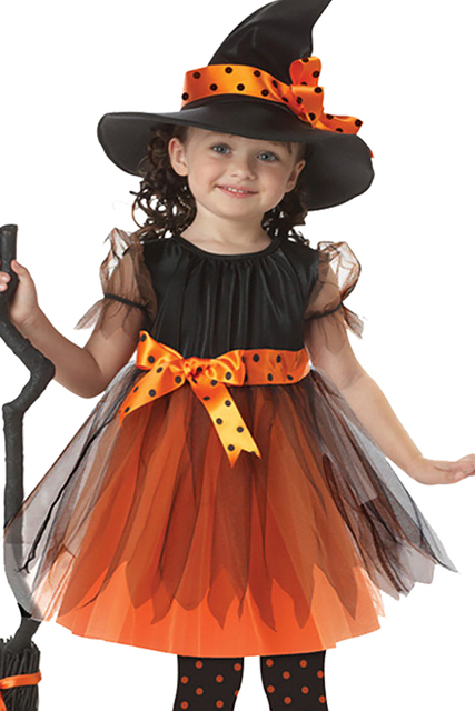 ek069 wholesale europe and united states cosplay witch anime dance performance clothing childrens halloween costume
