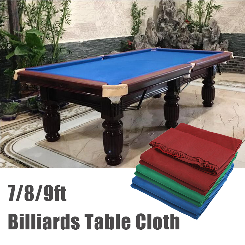 7ft 8ft 9ft Pool Eight Ball Billiard Pool Table Cloth for American